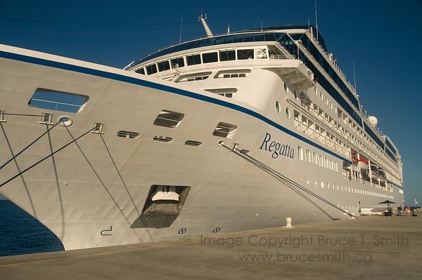 Oceania Cruises - The Regatta - docked at Grand Turk