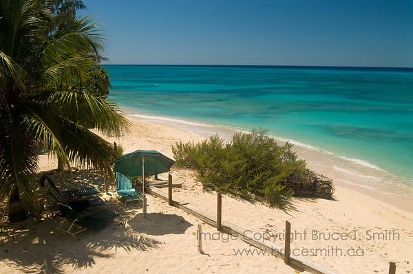 Tranquil Grand Turk beach scene