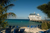 Oceania Cruises - The Regatta - docked at Grand Turk