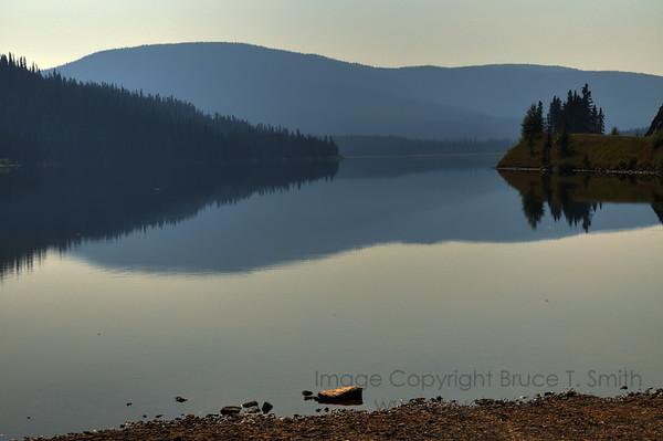 Jack of Clubs Lake near Wells BC