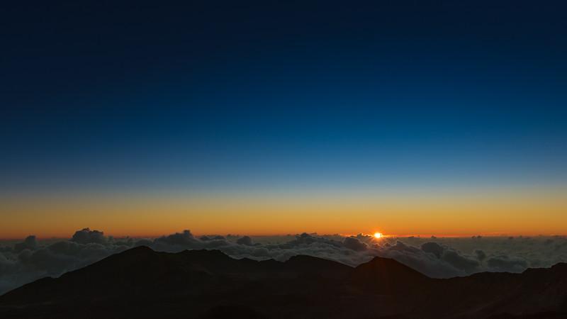 Haleakala Sunrise - Maui, Hawaii