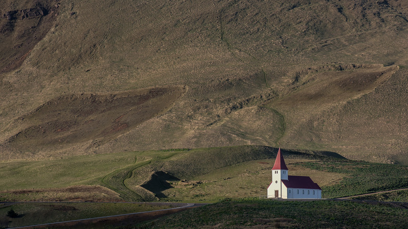 The Church at Vik, Iceland