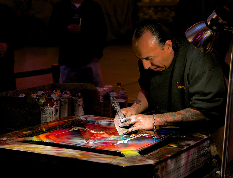 The Artist on Fremont Street - Las Vegas, Nevada