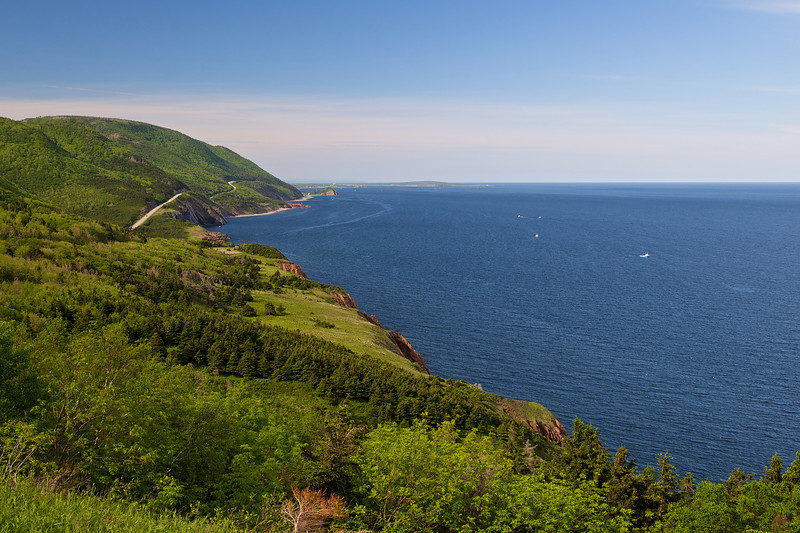 On the Road to Newfoundland, Cape Breton