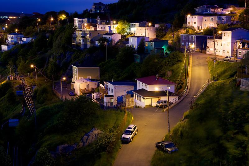 Battery Row - St. John's, Newfoundland