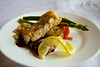 Pan-fried Cod with Scrunchions - Cape Norman, Newfoundland