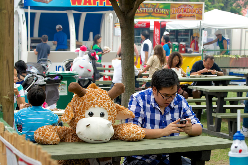 Taking a Break at the CNE