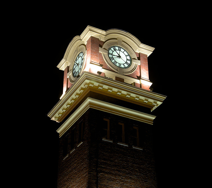The Clock Tower at Old Fire Hall 17
