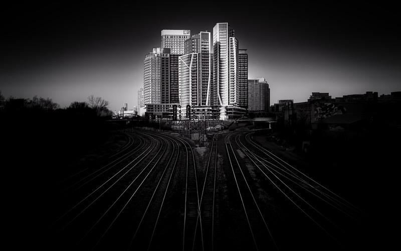 Living Between the Tracks - Toronto, Ontario