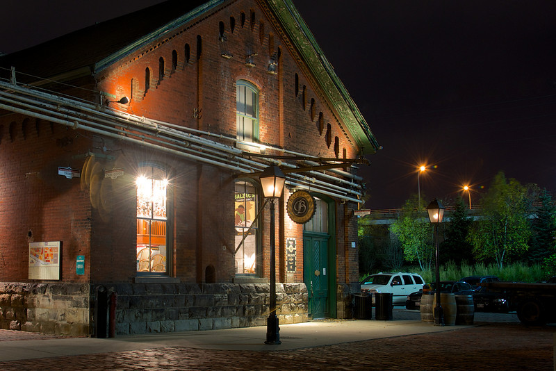 Toronto's Historic Distillery District