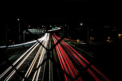 Hwy 10 at Night