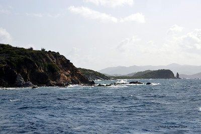 St. Thomas - Boat ride over to St. John's Island (March 22, 2014)