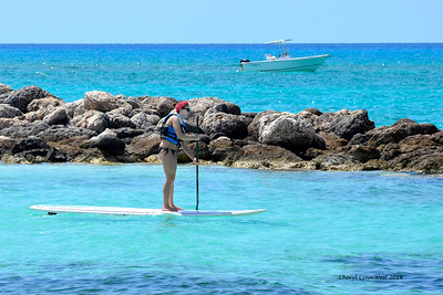 Princess Cays - Paddle boarding (March 20, 2014)