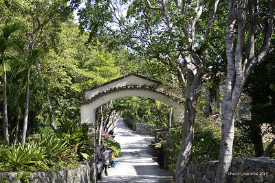 St. Thomas - Entrance to the Sugar Mill ruins on St. John's Island (March 22, 2014)