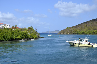 St. Thomas - Coming into St. John's Island (March 22, 2014)