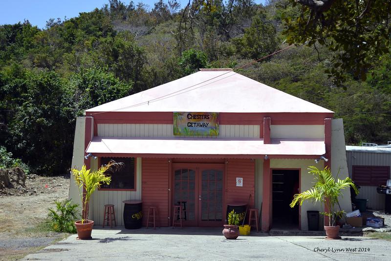 St. Thomas - Local bar on St John's Island (March 22, 2014)
