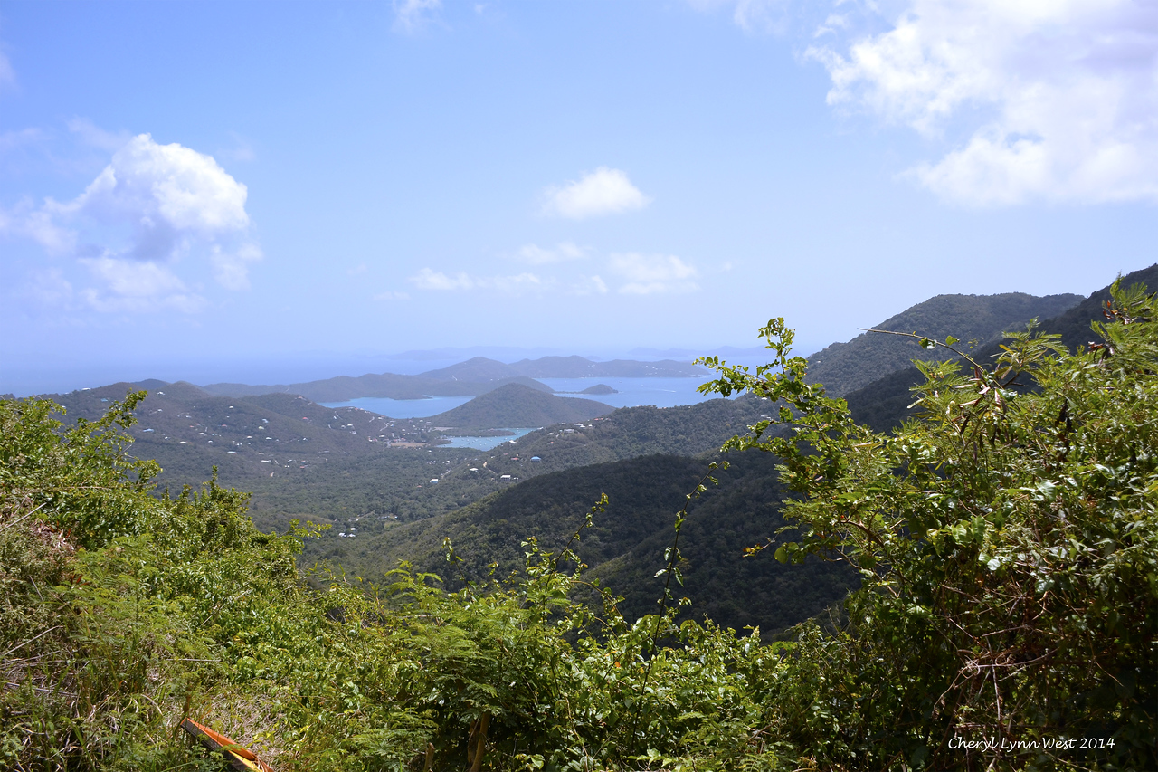 St. Thomas - Scenic view on St. John's Island (March 22, 2014)