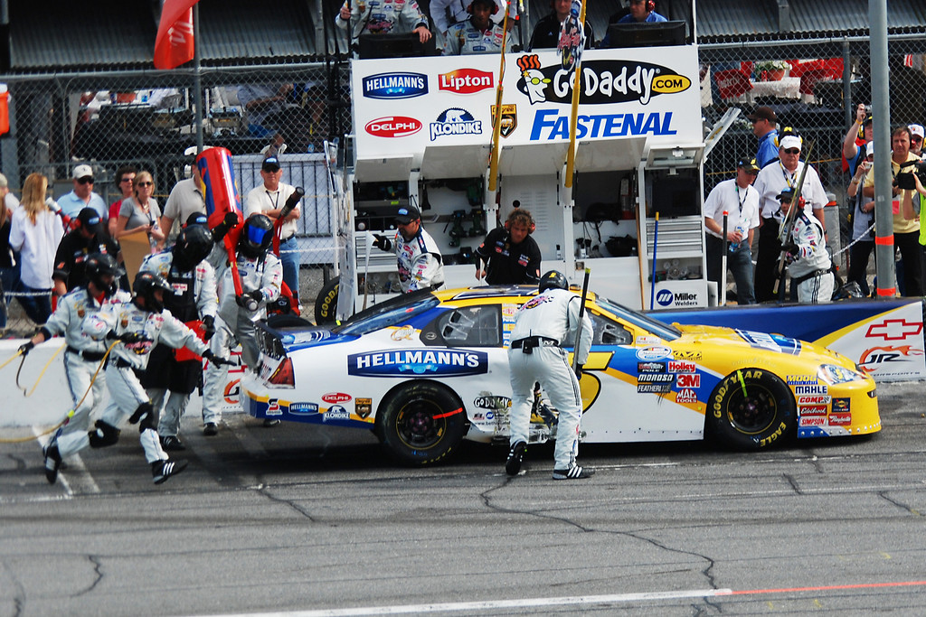 #5 - GoDaddy.com racing team