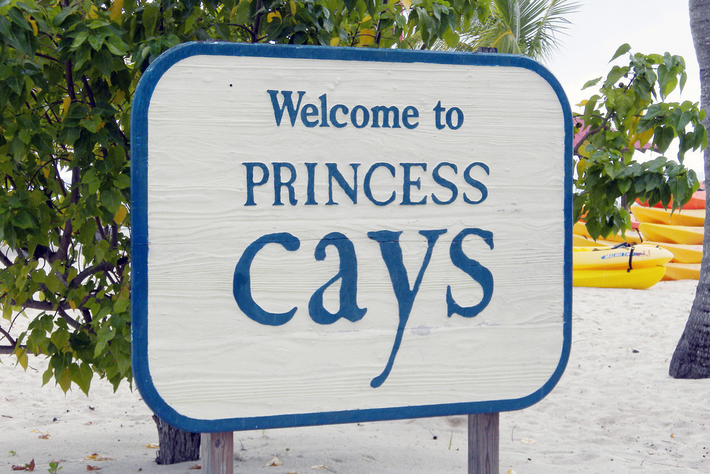 Princess Cays, Bahama - private port for Princess cruise lines