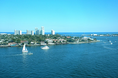 November 15, 2009 - Onboard the Emerald Princess, overlooking the Ft. Lauderdale port