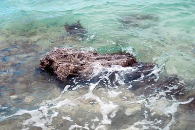 Rocky beach in Eleuthera Island
