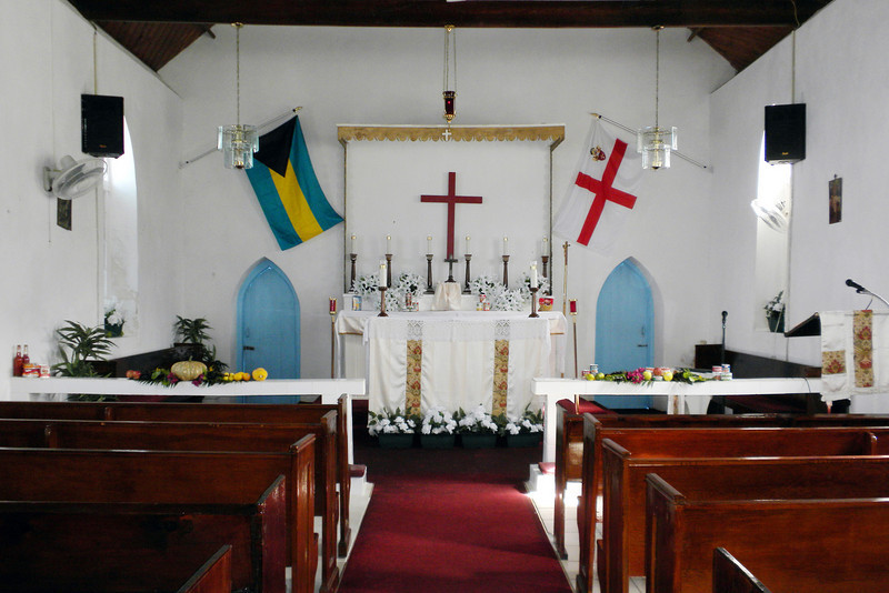 Inside of St. Columba's Church
