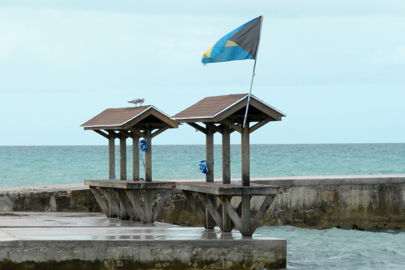 Piers on Tarpum Bay, Eleuthera
