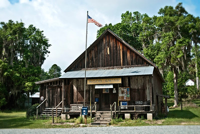 Post Office and General Store, Evinston, Florida - the post office is over 100 years old and still operating