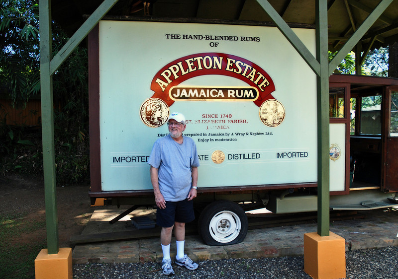 Appleton Estates, rum factory in Jamaica, December 7, 2011