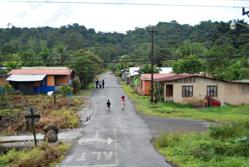 Country side in Costa Rica - December, 5, 2011