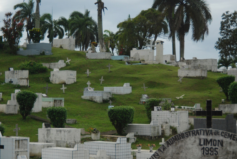 December, 5, 2011 - Cemetery in Costa Rica