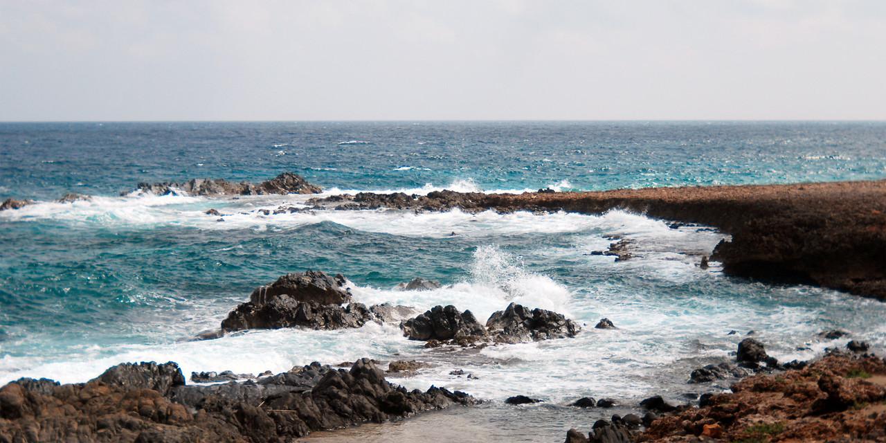 Aruba shoreline