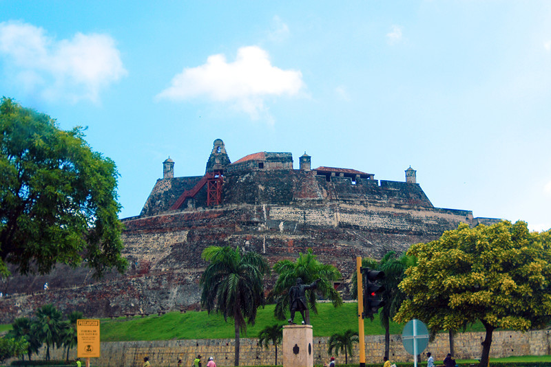 Castillo de San Felipe de Barajas - This fortress was built by the Spanish for protection against pirates while shipping good out to Europe.