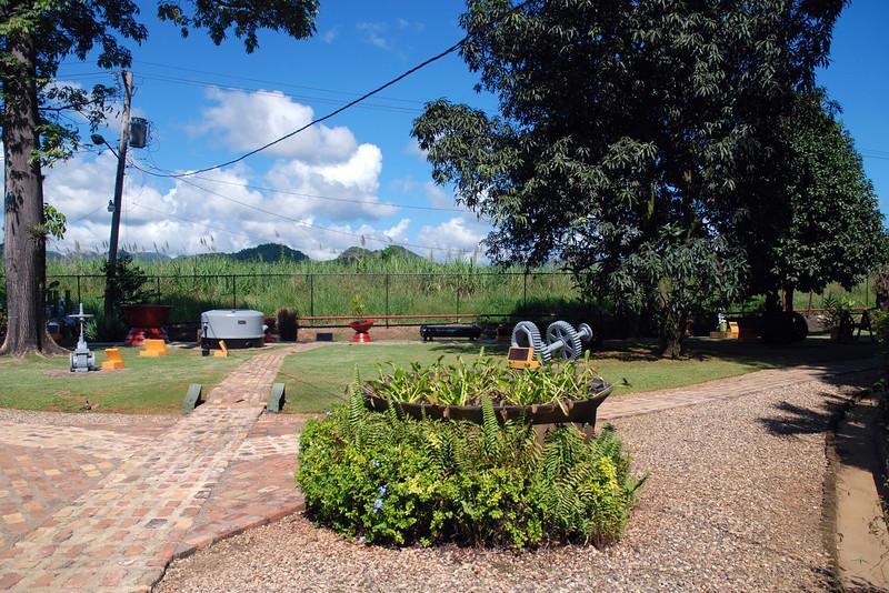 Scenes around the Appleton Rum Factory in Jamacia