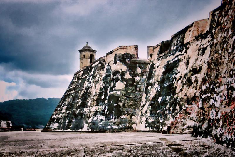 Castillo de San Felipe  - stylized verison