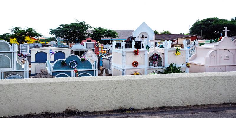 Cemetery in Aruba