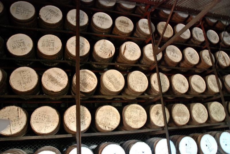Rum factory in Jamaica, December 7, 2011