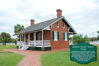 Lighthouse keepers' home at the Ponce Inlet Lighthouse