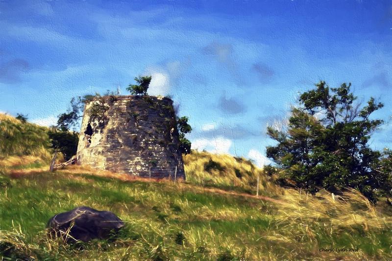 Barbados, ruins of sugar mill