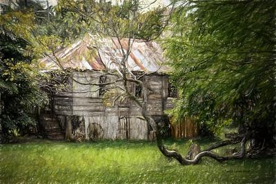 St Lucia, Balenbouche Estate - slave quarters