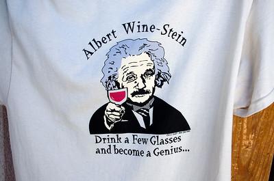 T-shirt at the San Sebastian Winery - I love this saying.