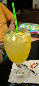 Start of our getaway - drinks at the Casa Maya.