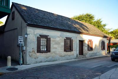 Espinosa-Sanchez House, ca. 1756, on Charlotte Street