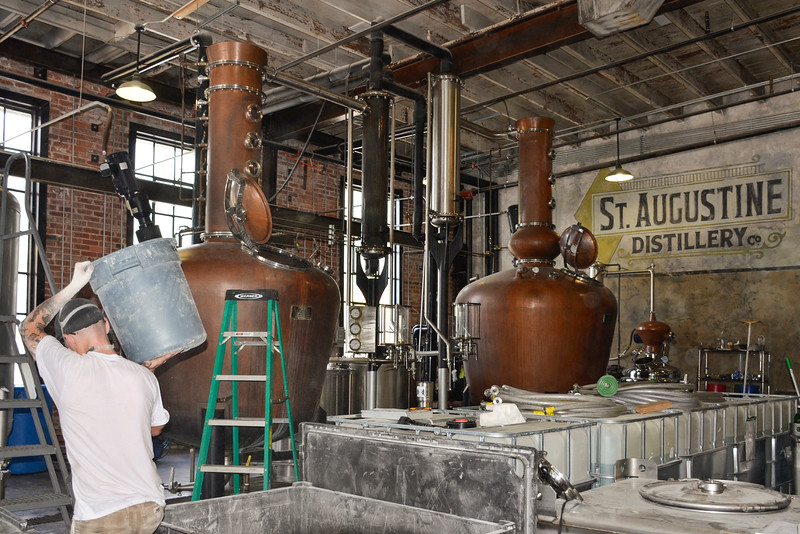 Stills, Ella (left) and Bessie (right) at the St. Augustine Distillery