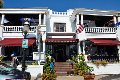 St Augustine, Florida - Casablanca Inn, a bed and breakfast, where we spent our 25 wedding anniversary getaway.
