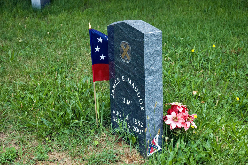 The East Hills Cemetery is still in use today, with this being one of the more current graves.