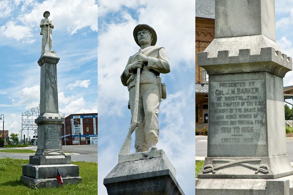 Statue in Bristol, TN/VA