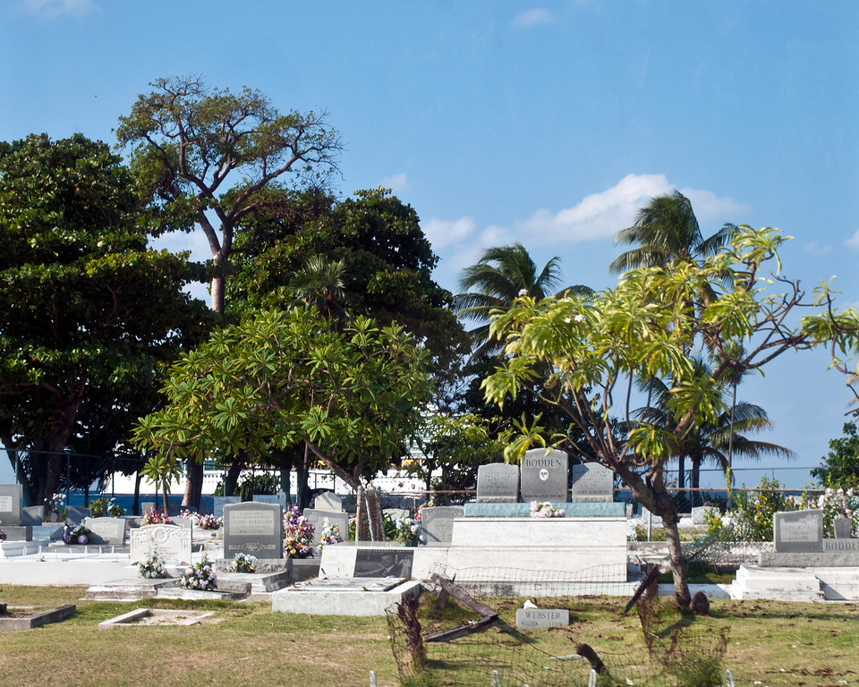Cemetary on the Grand Cayman