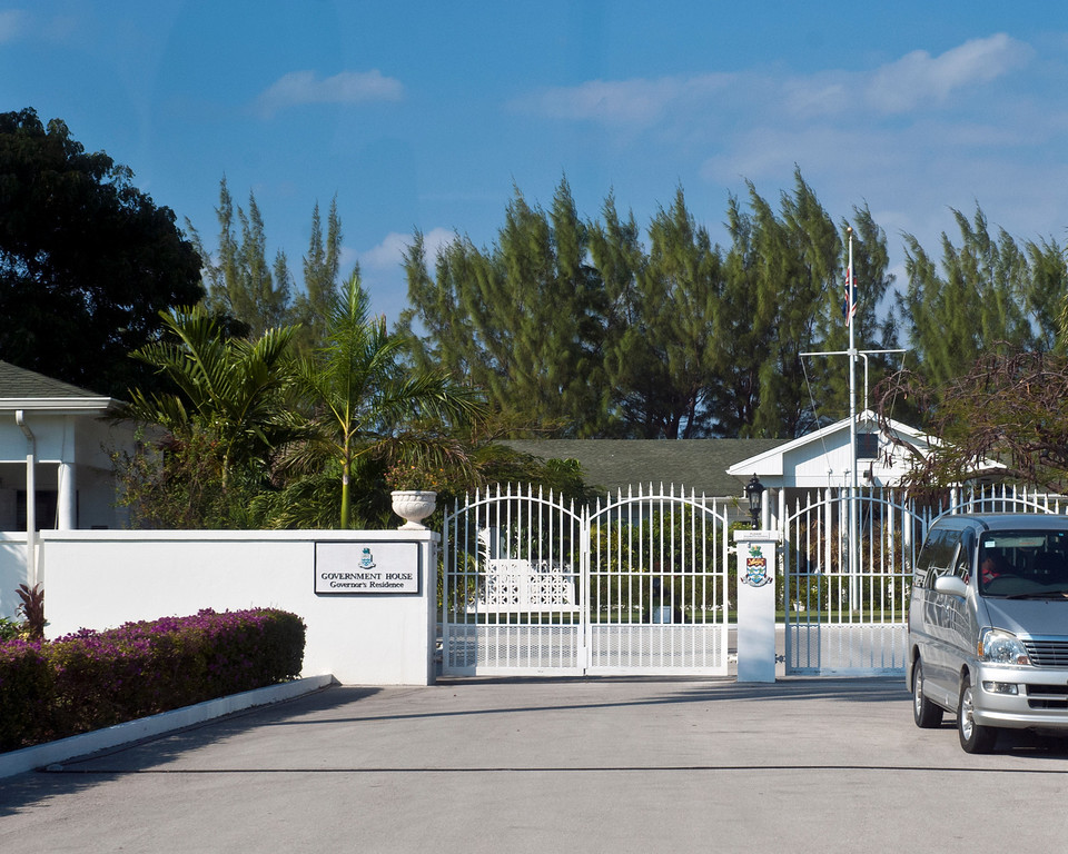 Governor's Mansion. Once the Governor has served his term, he must return to England and is never allowed to visit Grand Cayman again.