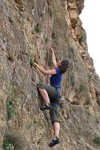 Climbing around Almeria